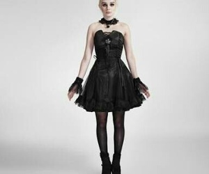dress, fashion, and gothic lolita image