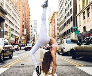 amazing, fit, and gymnast image