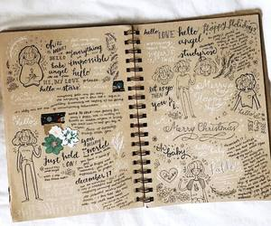 bullet journal and stationery image