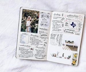 stationery and bullet journal image