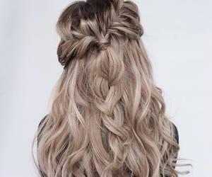 colorful, mermaid hair, and girly image