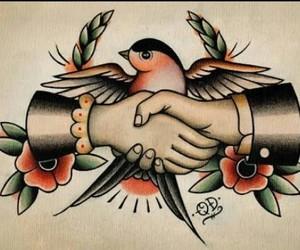 hands, tatoo, and treat image