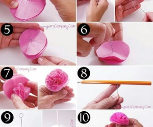 diy, do it yourself, and flores image