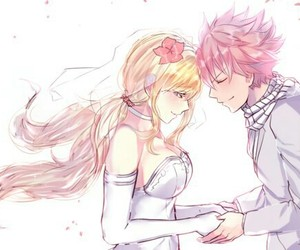 nalu, fairy tail, and anime image