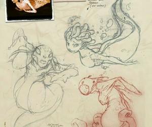 mermaid, photo, and fantasy image