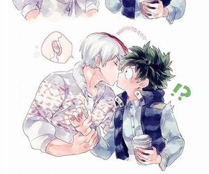 boku no hero academia, anime, and yaoi image