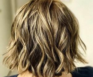 beautiful, blonde, and bob image
