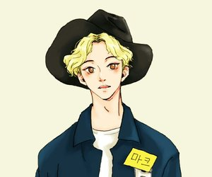fanart, mark lee, and nct image