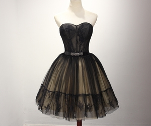 black dress, short dress, and cocktail dresses image