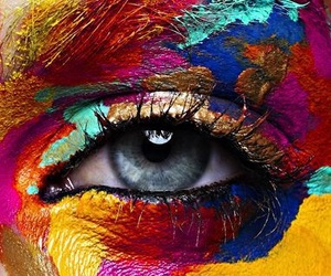 eye and colors image