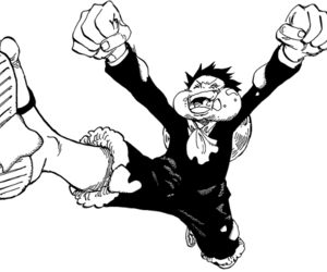 anime, one piece, and robin image
