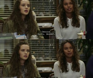 quotes, tv show, and hannah baker image