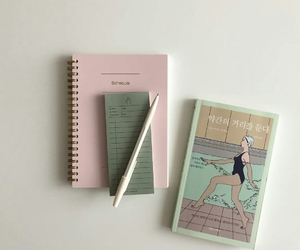 aesthetic, pink, and minimalist image