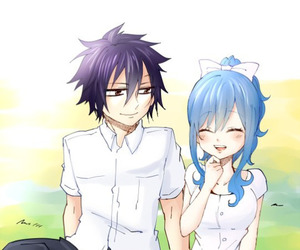 fairy tail, gray fullbuster, and gruvia image