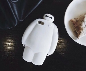 cute, baymax, and case image