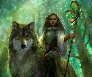 art, fantasy, and elf image
