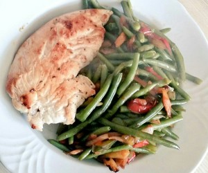 Chicken, delicious, and health image