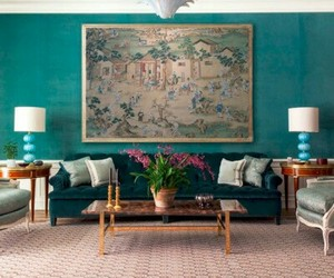 colorful decor, home decor, and living room image