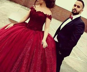 couple, dress, and clothes image
