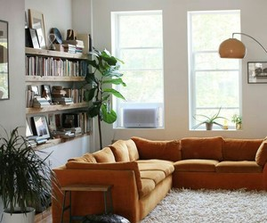 home decor, living room, and sectional image
