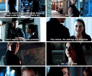 izzy, alec, and shadowhunters image