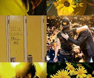 vic fuentes, yellow, and kellin quinn image