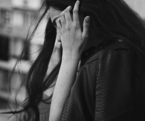 black, fingers, and girl image