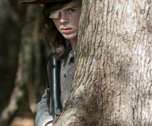 the walking dead, carl grimes, and boys image