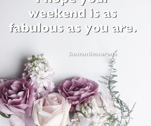 flowers, purple, and quotes image