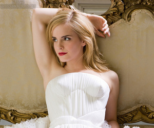 emma watson, dress, and actress image