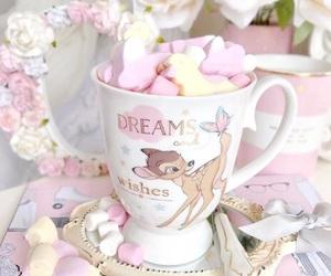 girly, disney, and marshmallows image