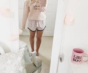 girly, night, and pajamas image