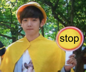 exo, reaction, and baekhyun image
