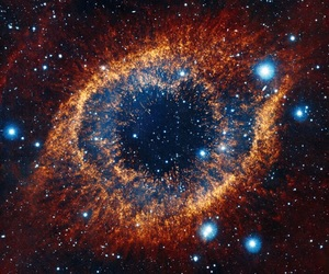 galaxy, iris, and stars image