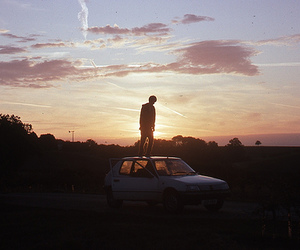 car, boy, and photography image