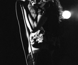 led zeppelin, robert plant, and 70's image