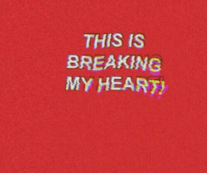 quotes, red, and heart image