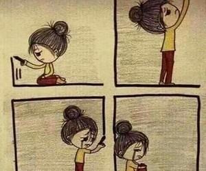 sad, alone, and cry image