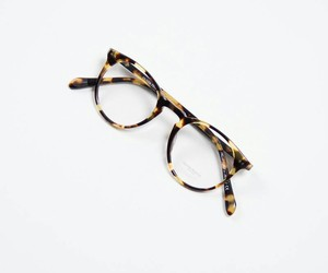 glasses, style, and fashion image