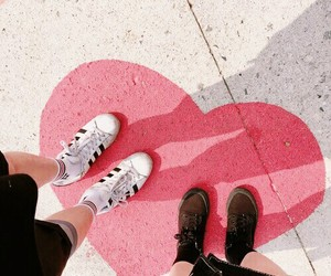 love, pink, and aesthetic image