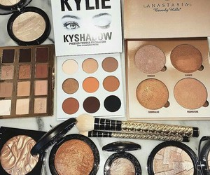 makeup, kylie, and eye image
