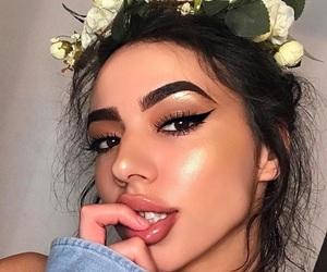 makeup, girl, and pretty image