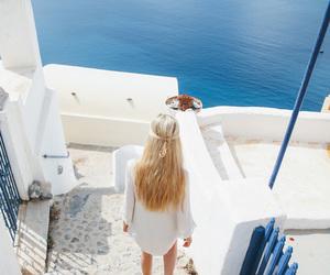 fashion, hair, and Greece image