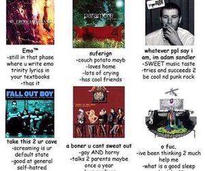emo, music, and tag yourself image