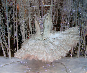 dress, ballet, and tutu image