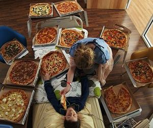 pizza, food, and lol image