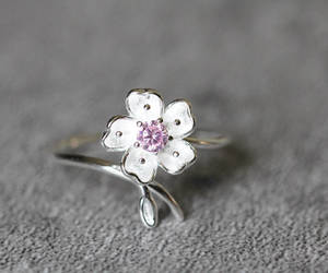 etsy, flower, and jewelry image