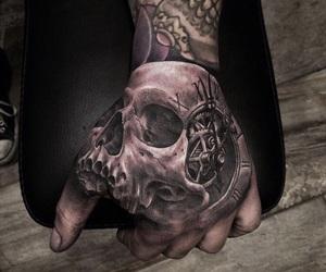 tattoo and hand image