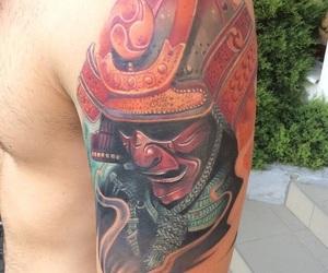 ink, samurai, and oldschool image