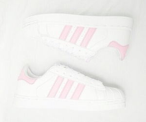 adidas, pastel, and pink image